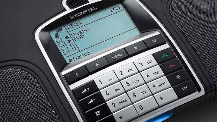 Konftel 300IP - A Conference Phone for Cloud-based and