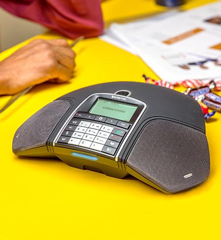 inter tel phone manual change language